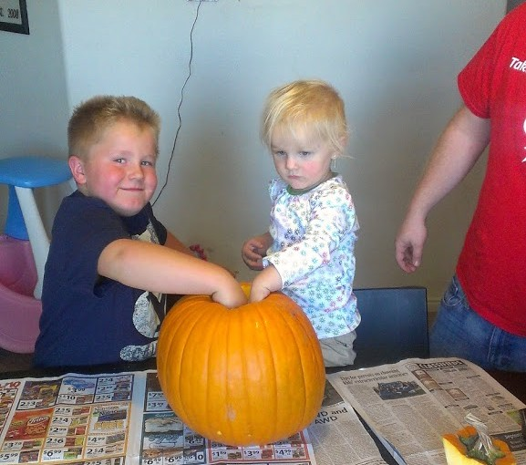 Carving of the Pumpkins!