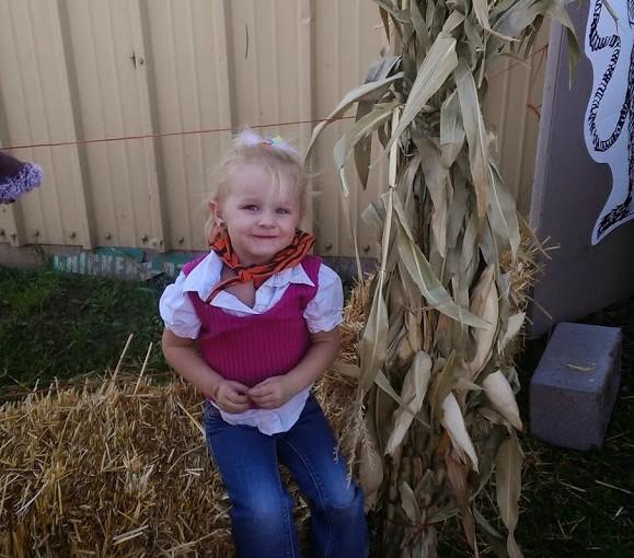 Ciara's First Field Trip… Pumpkin Patch