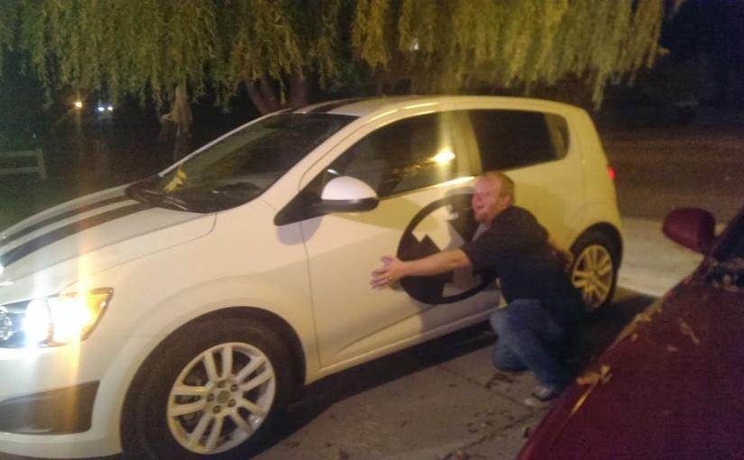 Baby's Got A Brand New Car!