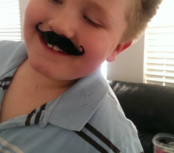 Mustache Happiness
